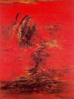 Cave to Canvas, Zao Wou-Ki, 17-3-63, 1963