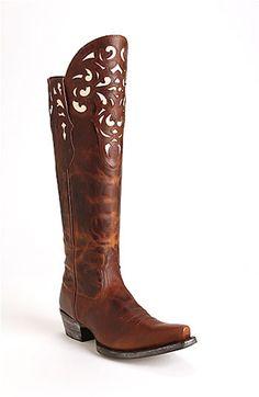 Ariat 'Hacienda' Boot $299.95 Look at that gorgeous filigree