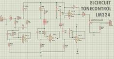 DIY Tone Control Circuit by using IC based op-amp to control the tones. Complete PCB Layout design and voltage source info, to make it easier you make this tone control. Electronic Circuit Projects, Electronics Projects, Abstract Iphone Wallpaper, Audio Amplifier, Circuit Diagram, Layout Design, Circuits, Filmmaking, Spinning Top