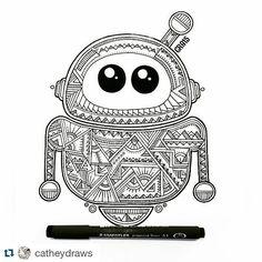 #Repost artwork karya @catheydraws by kelasgambar