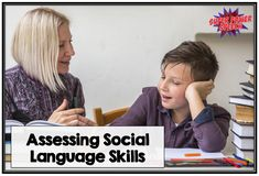 Assessing social language skills is hard.Beyond hard. You know that a child's inter-personal skills are off, but how do you put a finger on it? I have one student who is very bright. He will…
