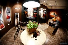 Menhard Store by Glamshops Exuding Elegance and Style in Sibiu – Romania Sibiu Romania, Leather Store, Shop Window Displays, Store Design, Kitchen Appliances, Retail Design, Bicycle, Behance, Blog