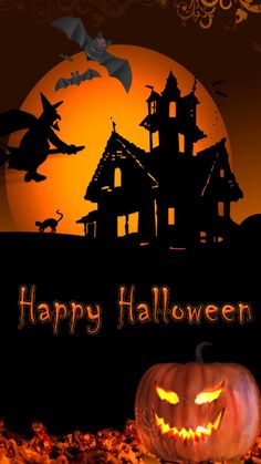 Many search for halloween hd wallpaper for their iphone 6 2 on this coming halloween day 2018 to set as their phones screeensaver or themes.So i have collected many of such happy halloween wallpapers for mobile phone from internet and shared here. Happy Halloween Banner, Happy Halloween Video, Happy Halloween Pictures, Halloween Humor, Fröhliches Halloween, Halloween Poster, Halloween Painting, Halloween Drawings, Halloween Photos