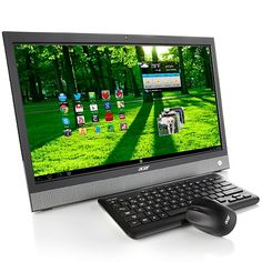 Acer 21.5 HD LCD Touchscreen Dual-Core Media Desktop..........Android in the PC....really?  What will they think of next??