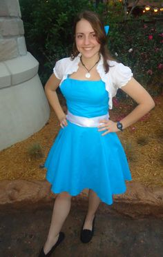 outfit idea for Disneybounding as Little Town Belle