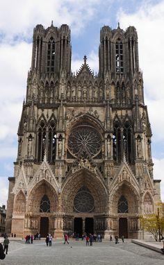 Maravillas de Europa: las 10 estructuras que debes visitar en 2015 | Comer, Viajar, Amar-Francia: La Catedral de Reims