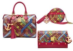 Shanghai series of colorful rope MCM bags female models