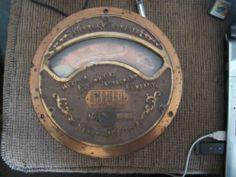 Antique Weston Electrical Instrument Ammeter Newark NJ 1898 Steampunk Gauge GSS | eBay