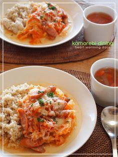 カフェランチ☆キャベツ、ソーセージのトマト煮 by こもれびさん ...