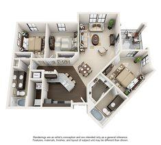 Apartments mit 1 2 und 3 Schlafzimmern in Birmingham AL