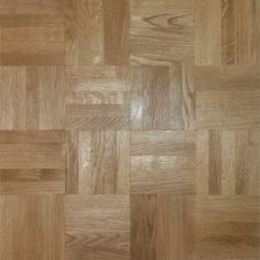 Solid Oak Parquet Finger Mosaic Panels square