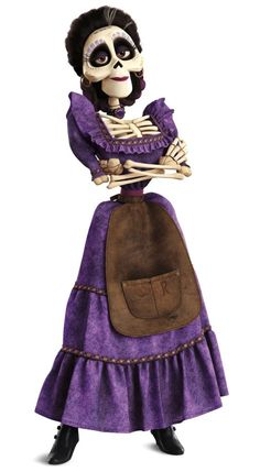 Imelda Rivera, Hector's wife from Coco Disney Pixar, Disney Wiki, Coco Costume, Costume Makeup, Halloween Party, Halloween Costumes, Halloween Kids, Life Size Cardboard Cutouts, Free Poster Printables