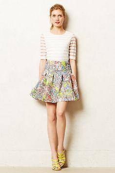 Carte Neoprene Skirt - anthropologie.com #skirts #anthropologie #summerfemme