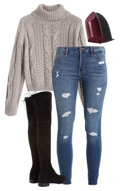 """""""#340"""" by mintgreenb on Polyvore featuring Hollister Co., Stuart Weitzman and Bobbi Brown Cosmetics"""