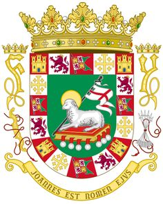 coat of arms of puerto rico | File:Coat of Arms of the Commonwealth of Puerto Rico.svg - Wikimedia ...