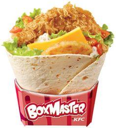 Boxmaster de KFC ... Trop bon !!!