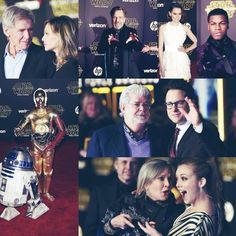 STAR WARS: THE FORCE AWAKENS (2015) ~ The world premiere in Hollywood on December 14, 2015.