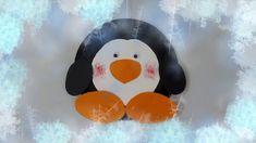 DIY Pinguin basteln – Winter Deko – Ideen für die Kinder zu Hause währen... Penguin Craft, Stay At Home, Handicraft, Deco, How To Make, Crafts, Art, Corona, Decorating Ideas