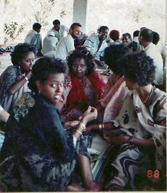Vintage photo of Somalis in Somalia 1960-1970