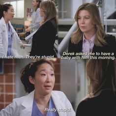 I love weekends Greys Anatomy Episodes, Greys Anatomy Funny, Greys Anatomy Cast, Grey Anatomy Quotes, Cristina And Meredith, Meredith Grey Quotes, Cristina Yang, Derek Shepherd, Grey's Anatomy Wallpaper