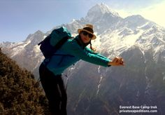 #twerking on an #Everest basecamp trek with www.privateexpeditions.com/himalaya