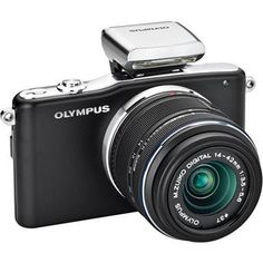 Olympus   E-PM1 Digital Camera with 14-42mm II Lens (Black)