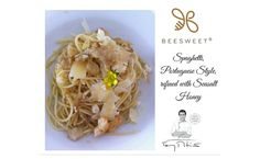 Delicious Spaghetti, Portuguese Style, refined with Seasalt Honey Nº 10 by Beesweet - Beesweet