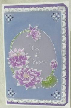 joy with Lotus by Madushi - Cards and Paper Crafts at Splitcoaststampers