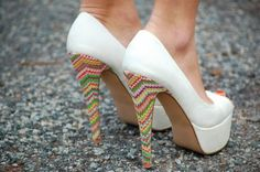 High over heels in these.