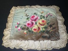 Antique handkerchief lingerie Case from antiquedolls6395 on Ruby Lane