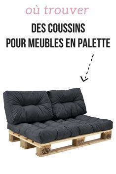 Vous cherchez des coussins pour vos meubles en palette ? Découvrez les boutiques pour acheter des coussins spéciaux pour palettes.