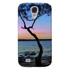 Lonely Sunset 1 Samsung Galaxy S4 Cases