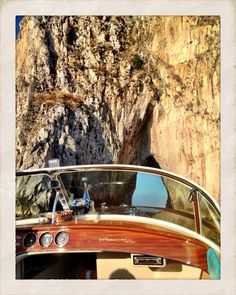 Amalfi coast 2012.  Always better with a Riva.