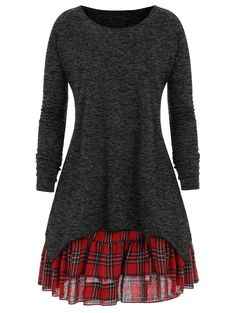 Pretty much anything from this site. Some rockabilly. 4x(?) Plus Size Check Two Piece Dress - BLACK XL