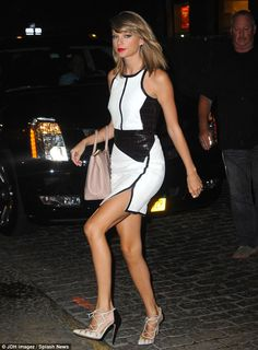 Prada Dresses Fall 2013 Work By Taylor Swift Taylor Swift left the Jimmy