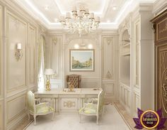 Office Design in Dubai, Interior Design Study Room, Photo 2