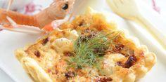 Tartelettes aux langoustines