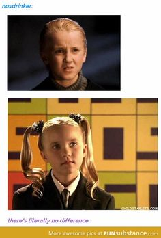Draco Malfoy (Harry Potter) and Gertie Giggles (Spy Kids) Twilight Harry Potter, Harry Potter Puns, Mundo Harry Potter, Harry Potter World, Harry Potter Actors, Funny Harry Potter Quotes, Tom Felton Harry Potter, Harry Potter Images, Hogwarts