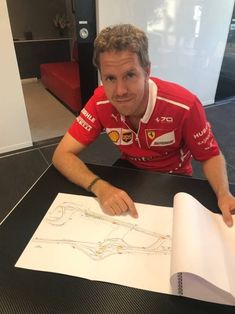 And that's the corner where Lewis will crash Predicted by god to god Alain Prost, Grand Prix, Ferrari Scuderia, Formula 1 Car, F1 Drivers, Car And Driver, World Championship, Race Cars, Racing