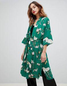 Y.A.S Printed Kimono