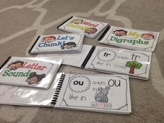 Phonics Flip Books, Guided Reading, Small Group, RTI, Daily Repetition