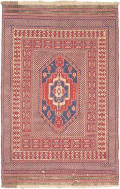 $5 Off when you share! E Carpet Gallery Nomad Nomad Flatweave Pink Rug 4' x 8' Pink Rug #RugsUSA