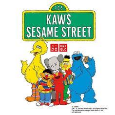 Kaws X Sesame Street Family Collab T Shirt in 2019