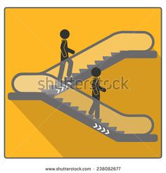 Escalator icon