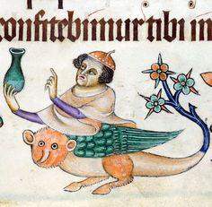 Luttrell Psalter, England ca. 1325-1340 (British Library, Add 42130, fol. 147r)
