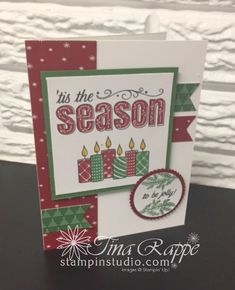 Stampin' Up! Merry Patterns stamp set, Stampin' Studio