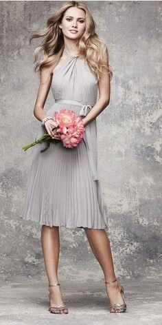 <3 this one too, love that grey!!! Maid of Honor's Dress