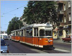 WB Gotha 1962 TDE Linie 86 in der Bahnhofstrasse (1992)