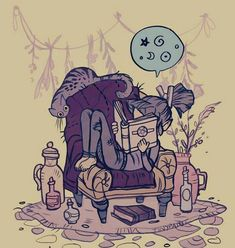 Musing of a witchy writer Witch Aesthetic, Aesthetic Art, Pretty Art, Cute Art, Illustrations, Illustration Art, Under Your Spell, Mystique, Witch Art