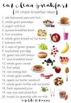 20 Eat Clean Breakfast Ideas | Rebel Dietitian, Dana McDonald, RD